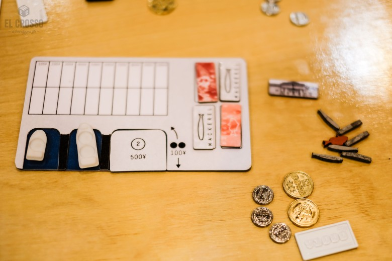 Spiel 2018 TOKYO TSUKIJI MARKET by Jordan Draper player board