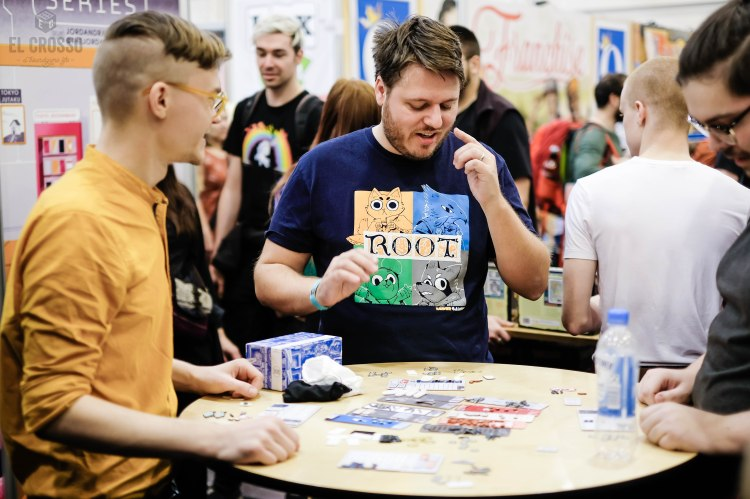 Spiel 2018 TOKYO TSUKIJI MARKET by Jordan Draper Cole Wehrle demo