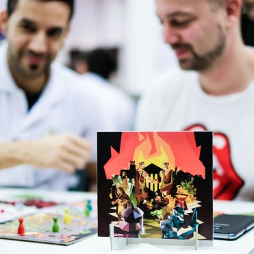 Spiel 2018 Togas & Daggers or Vae Victis by 2Tomatoes art