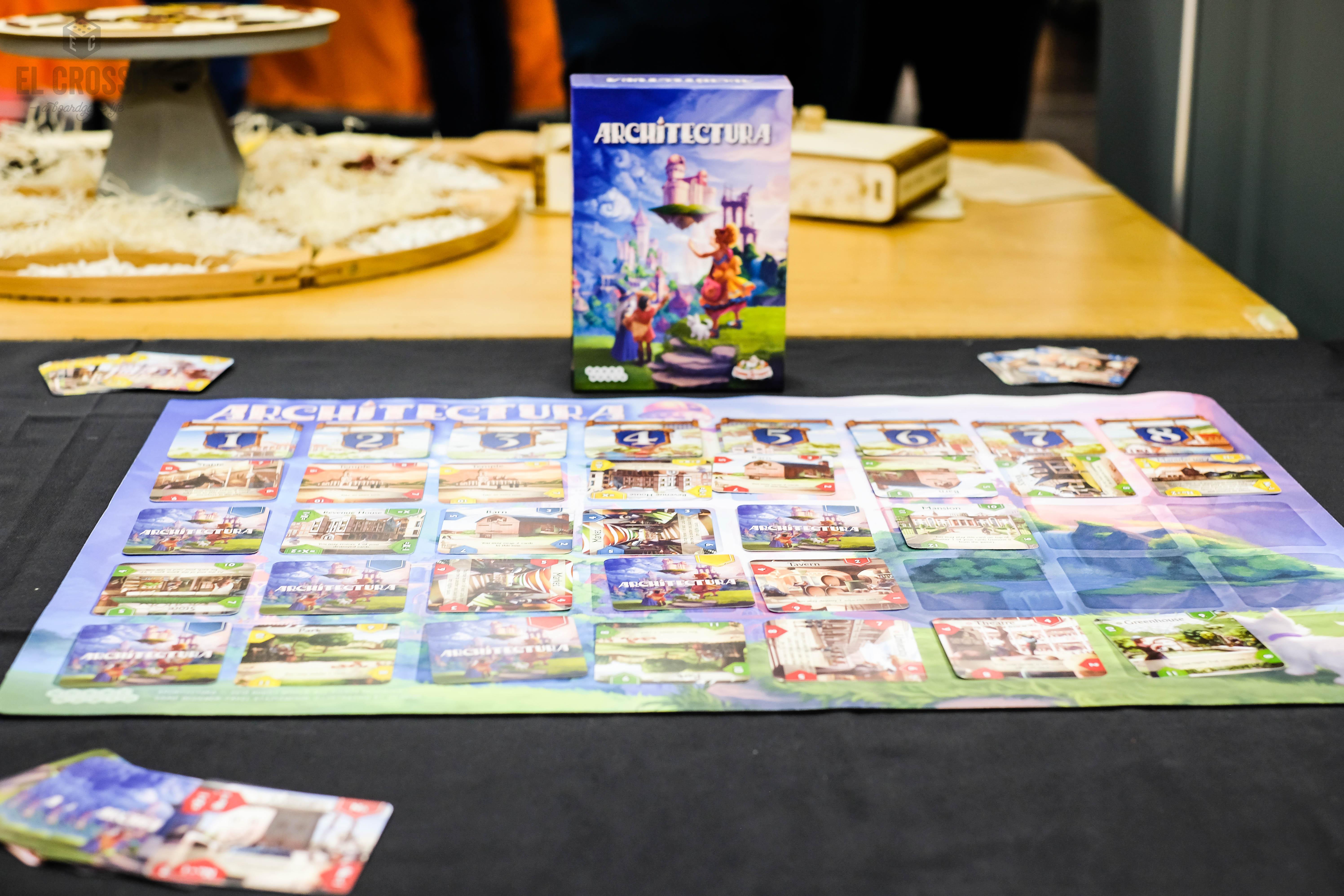 Spiel 2018 Architectura by Game Brewer