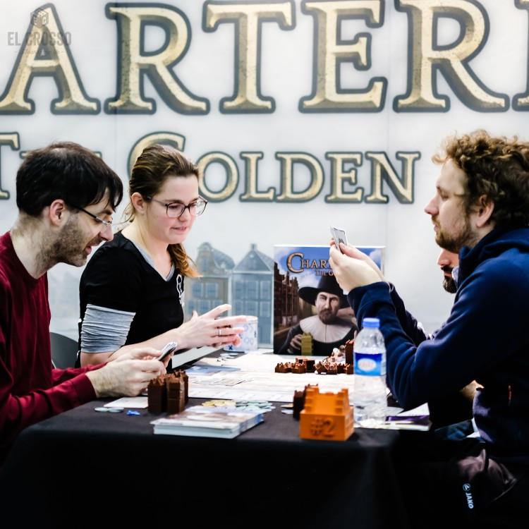 Spiel 2018 Chartered the Golden Age by Jolly Dutch productions demo