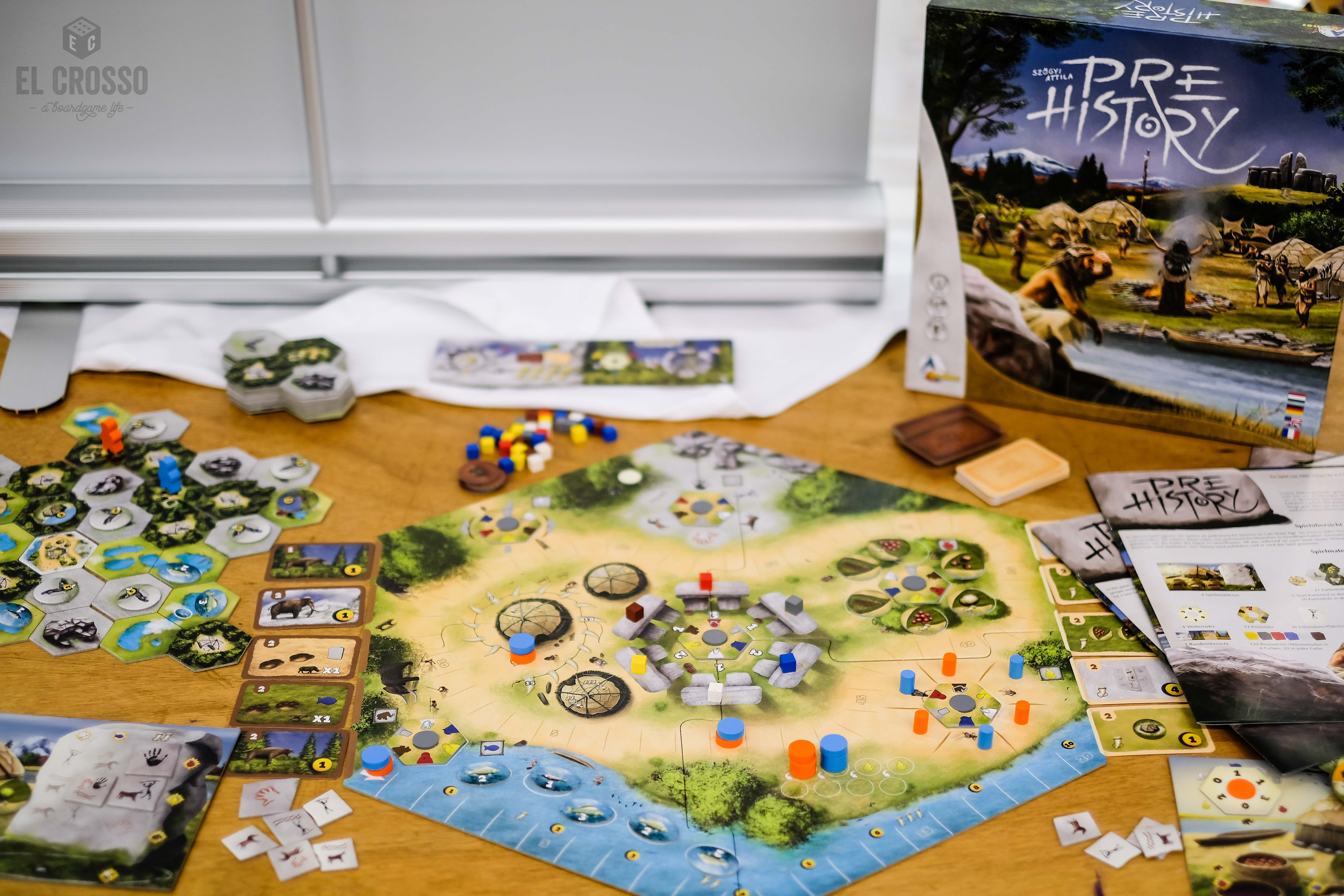 Spiel 2018 Prehistory by A-Games