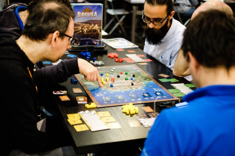 Spiel 2018 Ragusa by Capstone Games & Braincrack games