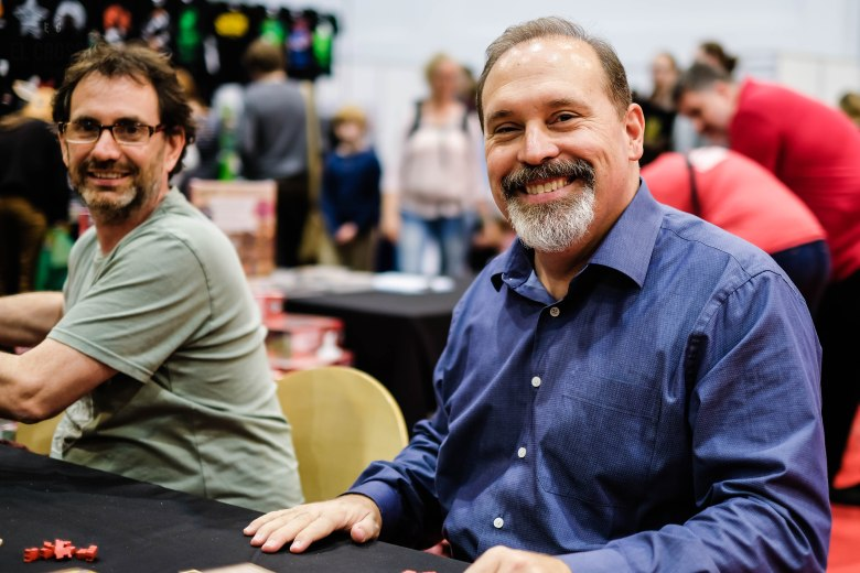 Spiel 2018 Glenn Drover with Forbidden Games