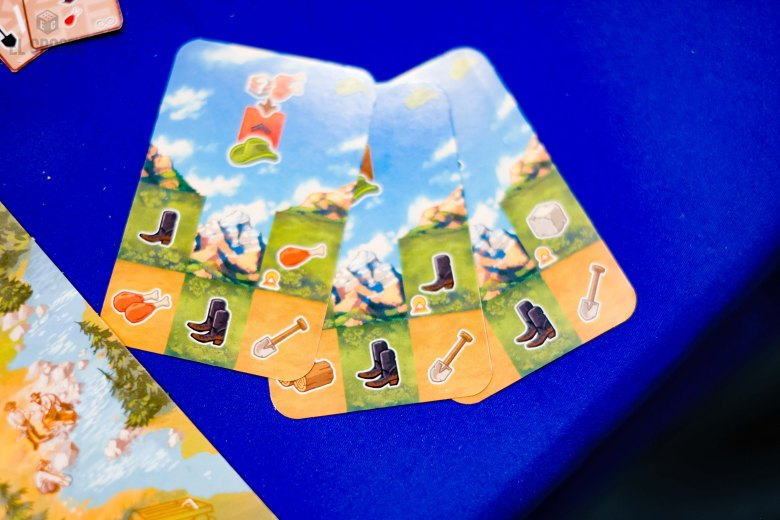 Spiel 2018 Sierra West by Board&Dice multi use cards