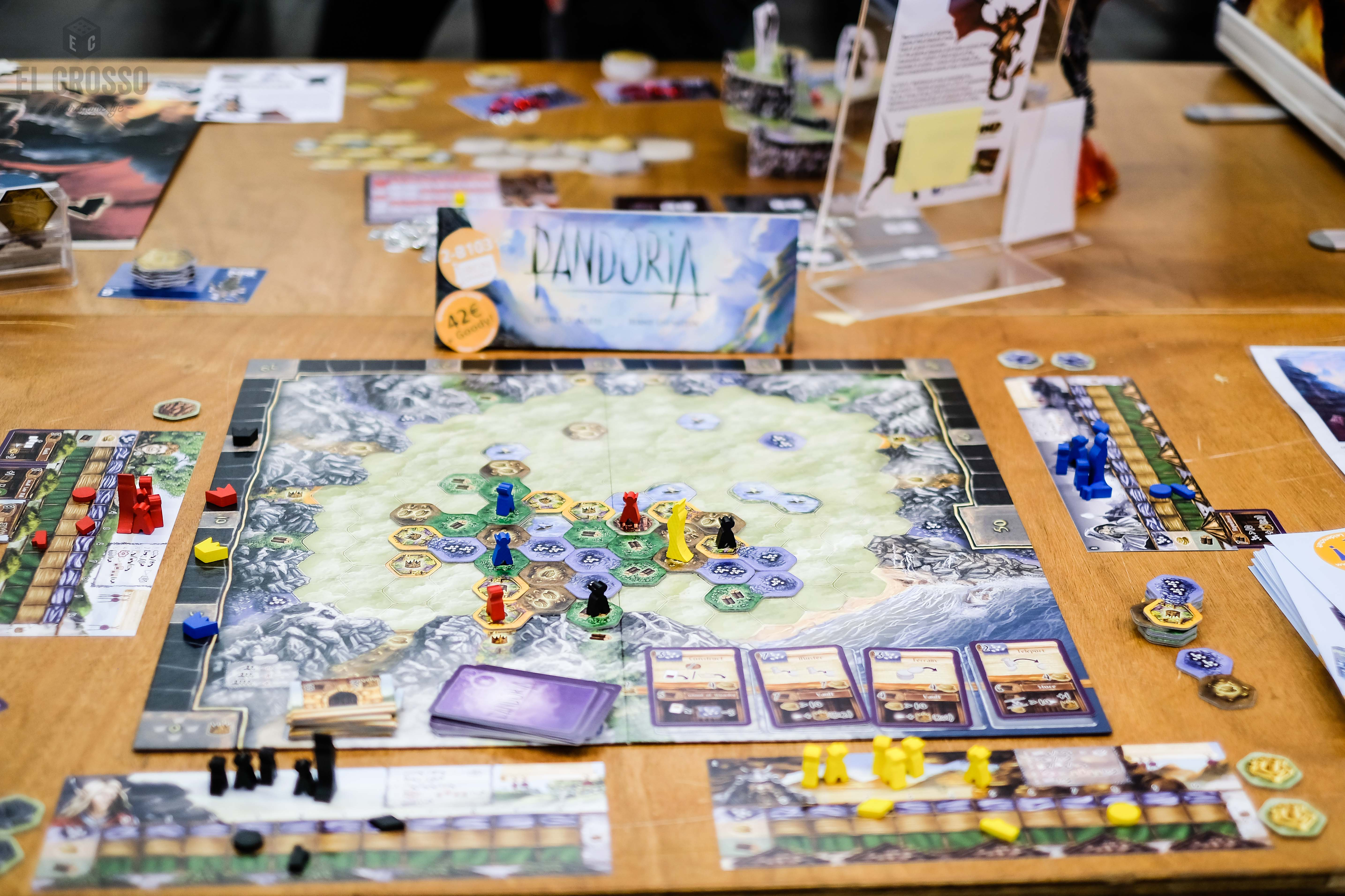 Pandoria Boardgame New