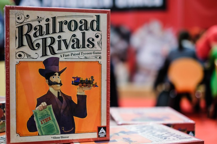 Spiel 2018 Railroad Rivals by Glenn Drover from Forbidden Games