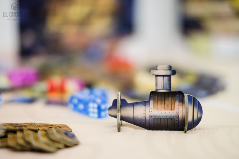 Spiel 2018 Atlandice by Ludonaute submarine