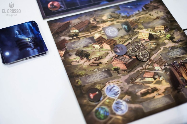 Spiel 2018 Valhal by Tetrahedron Games player board