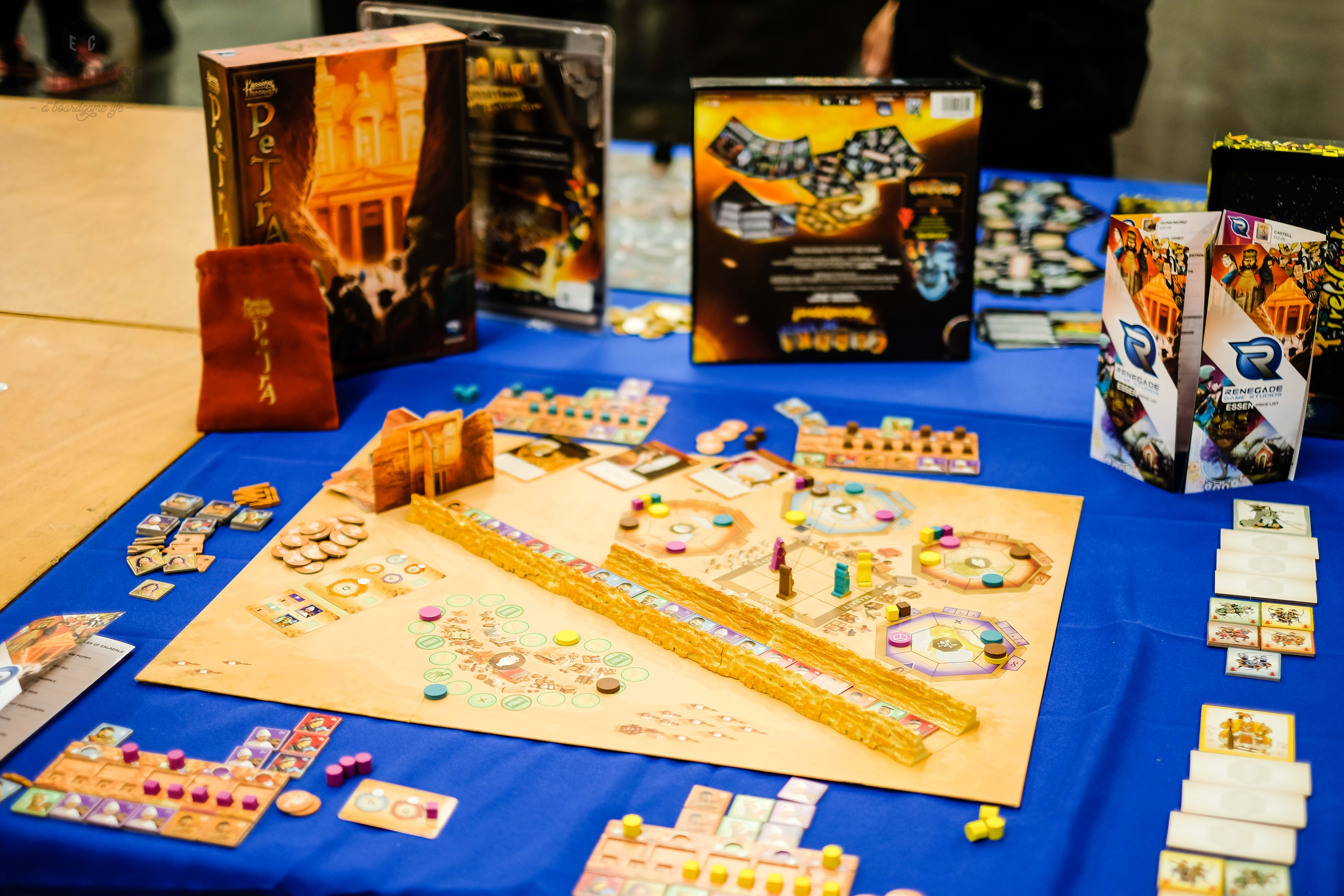 Spiel 2018 Passing through Petra by Renegade Games Studio