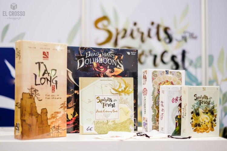 Spiel 2018 line-up from ThunderGryph Games Tao Long Dead Man's Doubloon Spirit Forest