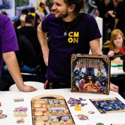 Spiel 2018 Victorian Masterminds by CMON Games Eric Lang Antoine Bauza