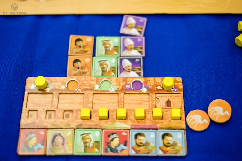 Spiel 2018 Passing through Petra by Renegade Games Studio player board
