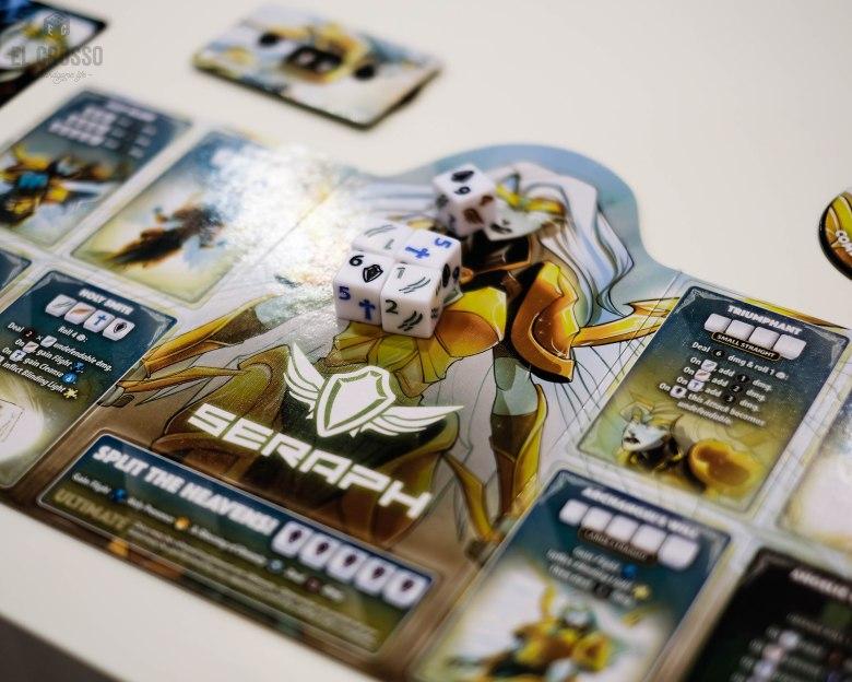 Spiel 2018 Dice Throne expansion by Roxley Games Seraph