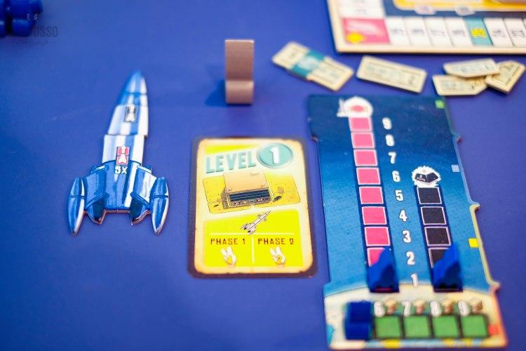 Spiel 2018 Lift Off by Hans im Glück player area