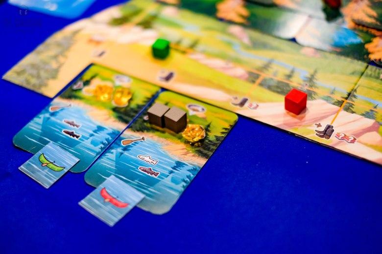 Spiel 2018 Sierra West by Board&Dice the river