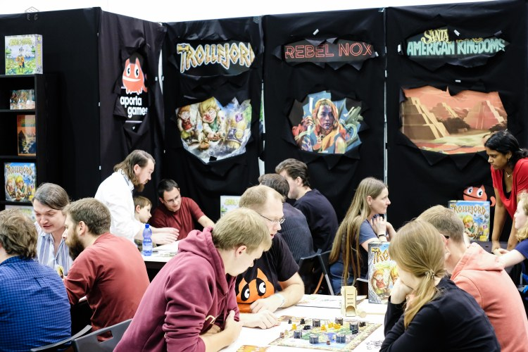 Spiel 2018 Aporta Games booth