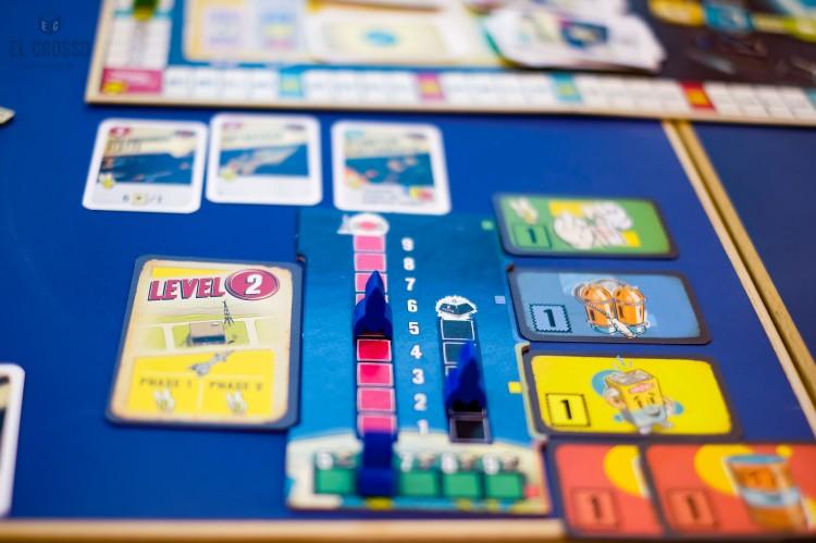 Spiel 2018 Lift Off by Hans im Glück money space ship