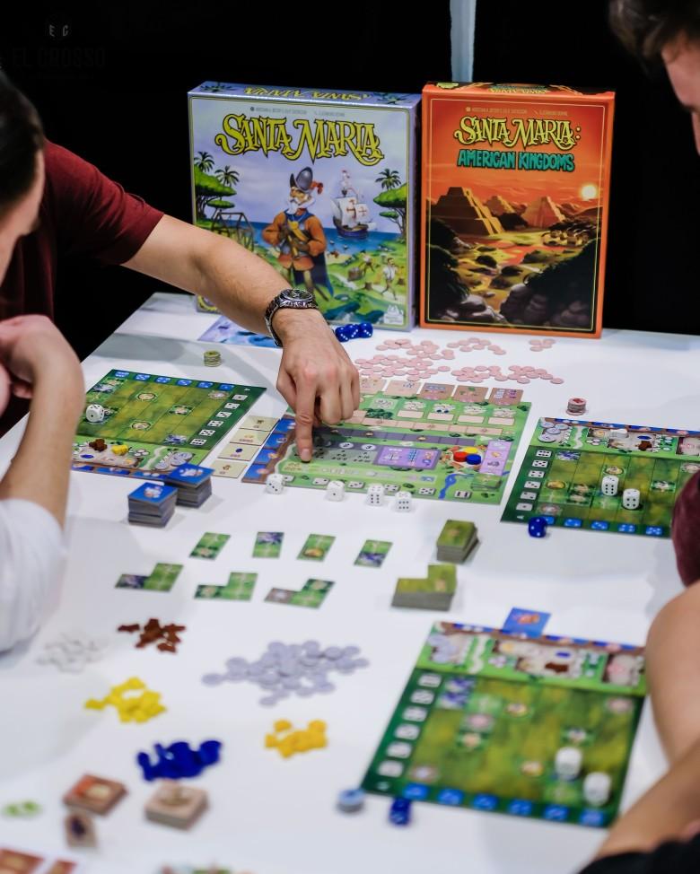 Spiel 2018 Santa Maria American Kingdoms by Aporta Games
