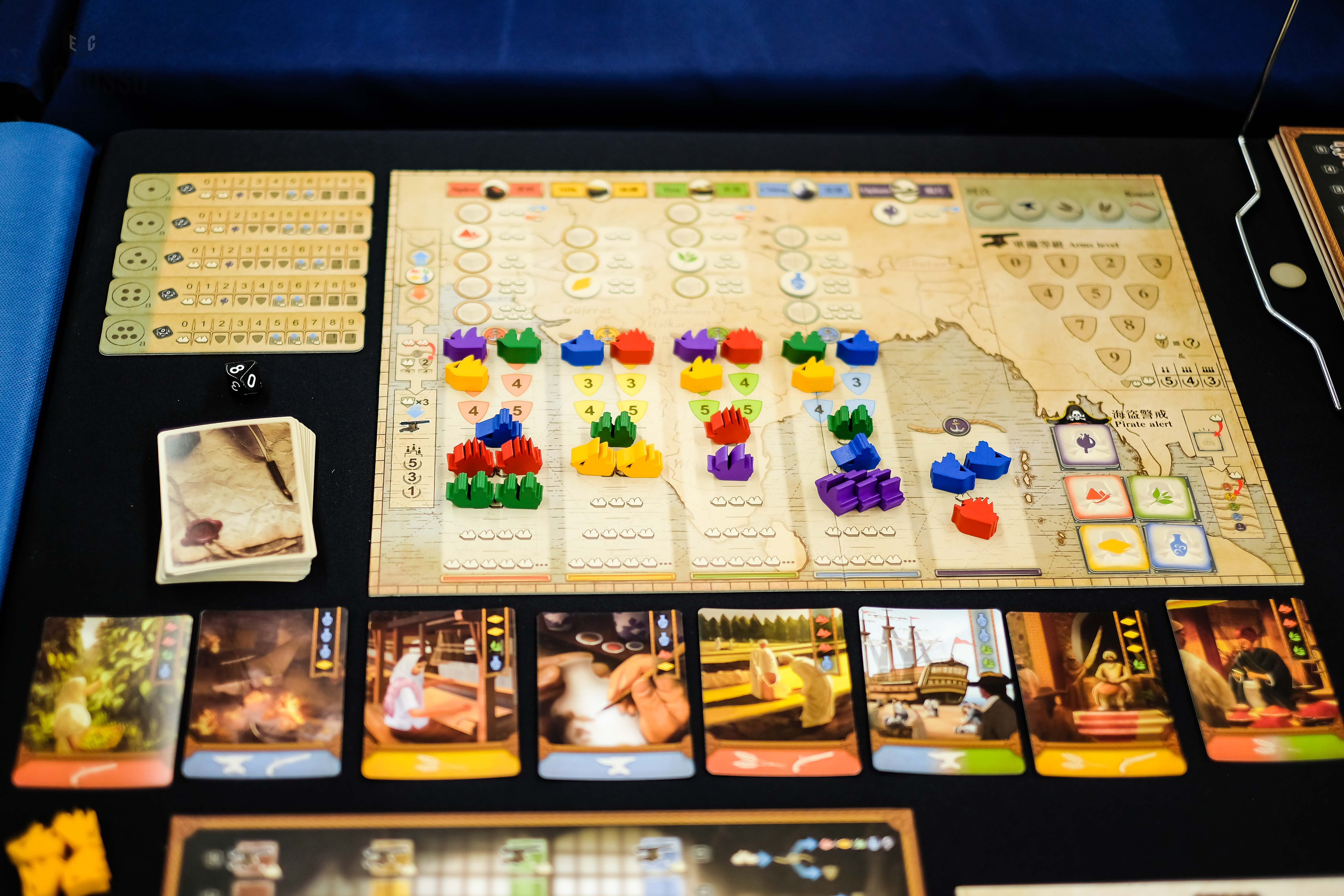 Spiel 2018 East Indiaman by Moaideas oversight