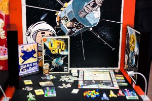 Lift Off by Hans im Glück at Spiel 2018 Demo Hall overview