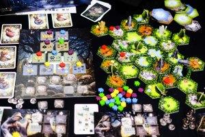Spiel 2018 Nemeton by BLAM! & Blackrock Games components