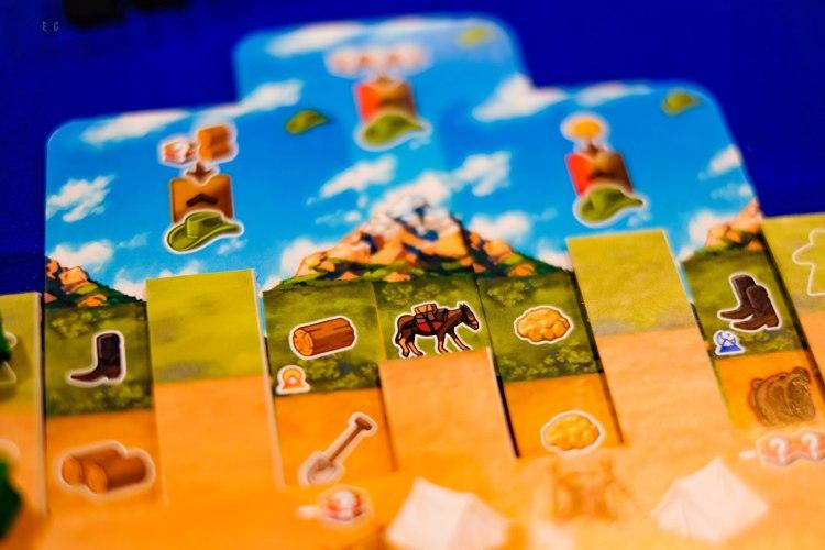 Spiel 2018 Sierra West by Board&Dice player board