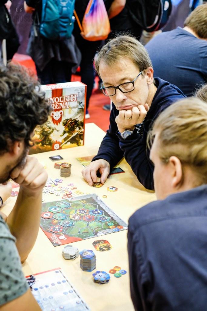 Spiel 2018 Monolith Arena by Portal Games demo