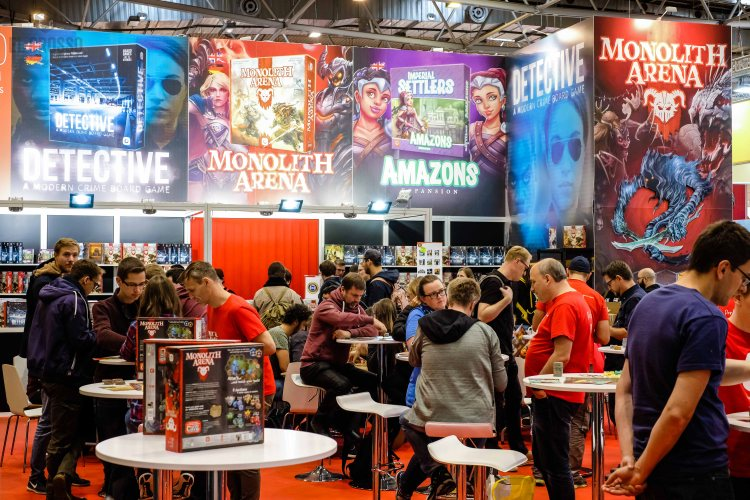 Spiel 2018 Portal Games booth