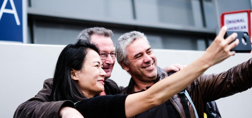 Spiel 2018 Vital Lacerda, Martin Wallace, Ellalovesboardgames Selfie