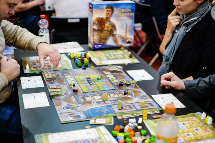 Spiel 2018 Forum Trajanum by Stronghold Games