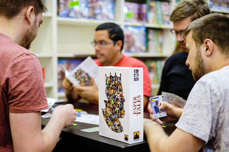 Spiel 2018 Paper Tales by Stronghold Games