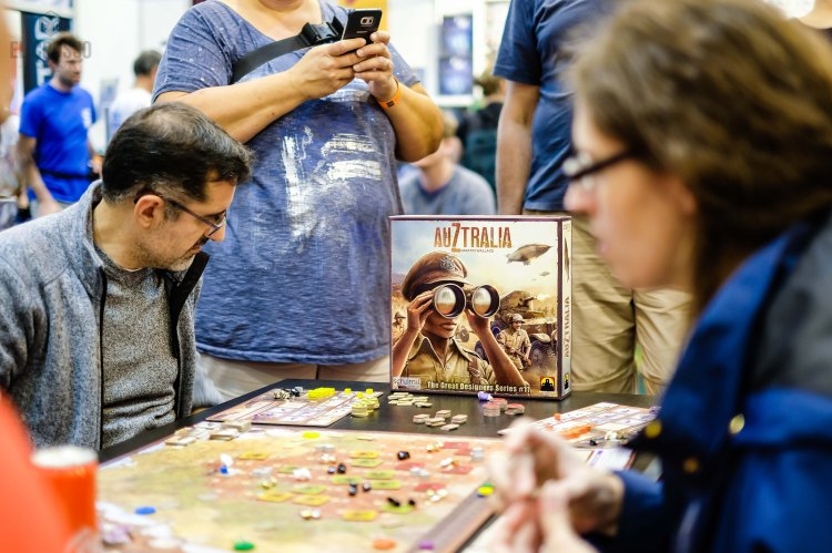 Spiel 2018 Auztralia by Stronghold Games Martin Wallace Game