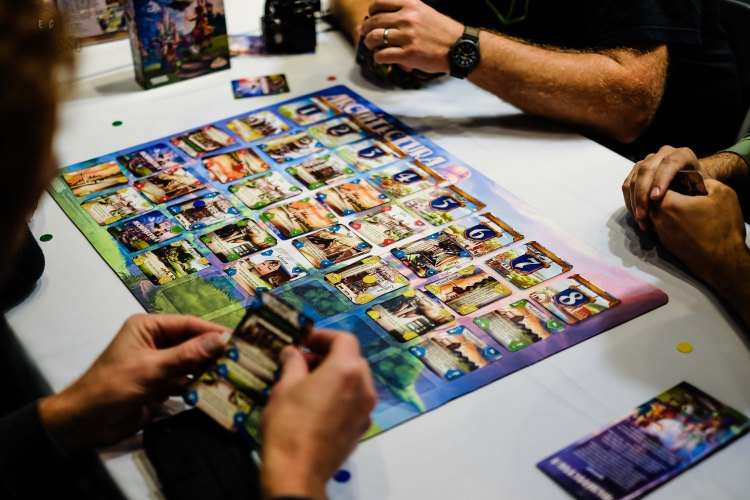 Spiel 2018 Architectura by Game Brewer play mat