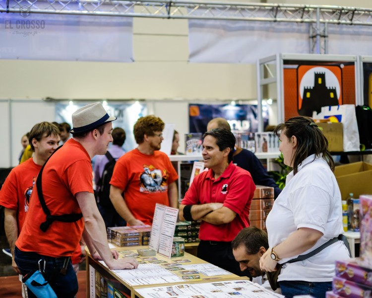Spiel 2018 Stronghold Games Booth