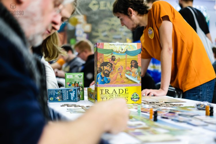 Spiel 2018 Trade on the Tigris by TMG Games