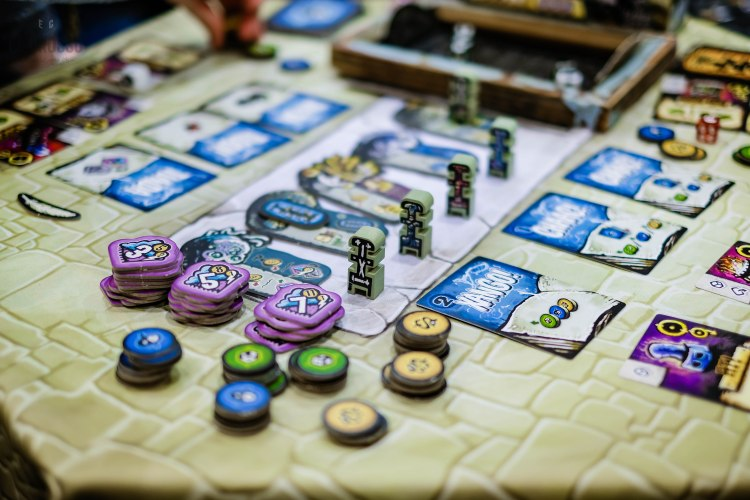 Spiel 2018 Konja by Pleasant Company Games from Robert van Zyl pieces