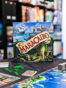 Box cover Maracaibo board game