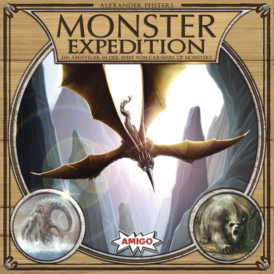 Monster Expedition board game