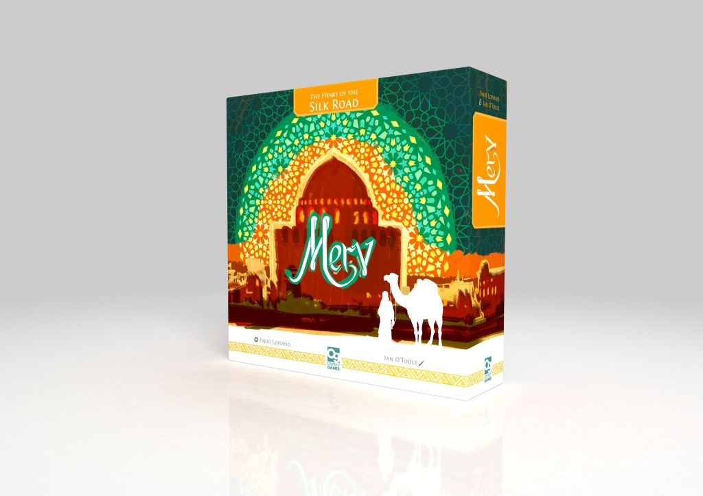 Merv The Heart of the Silk Road board game