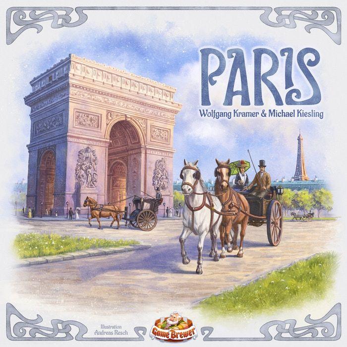 Paris board game