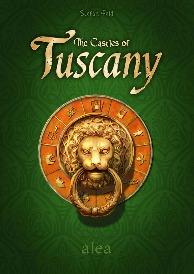 The Castles of Tuscany board game