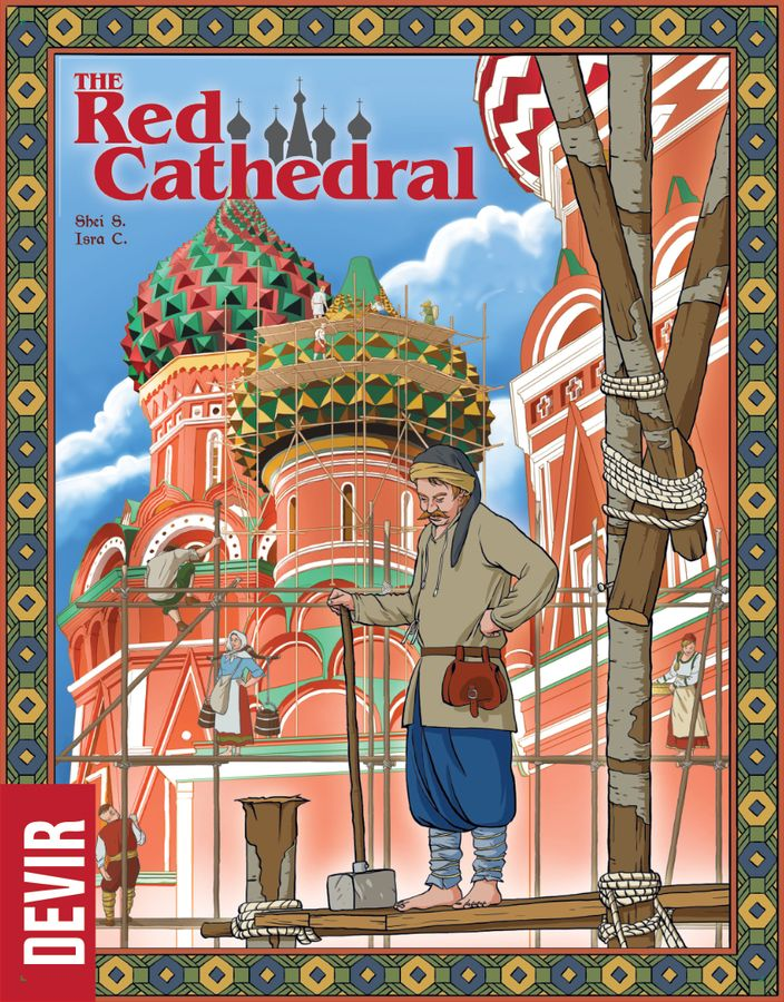 The Red Cathedral board game