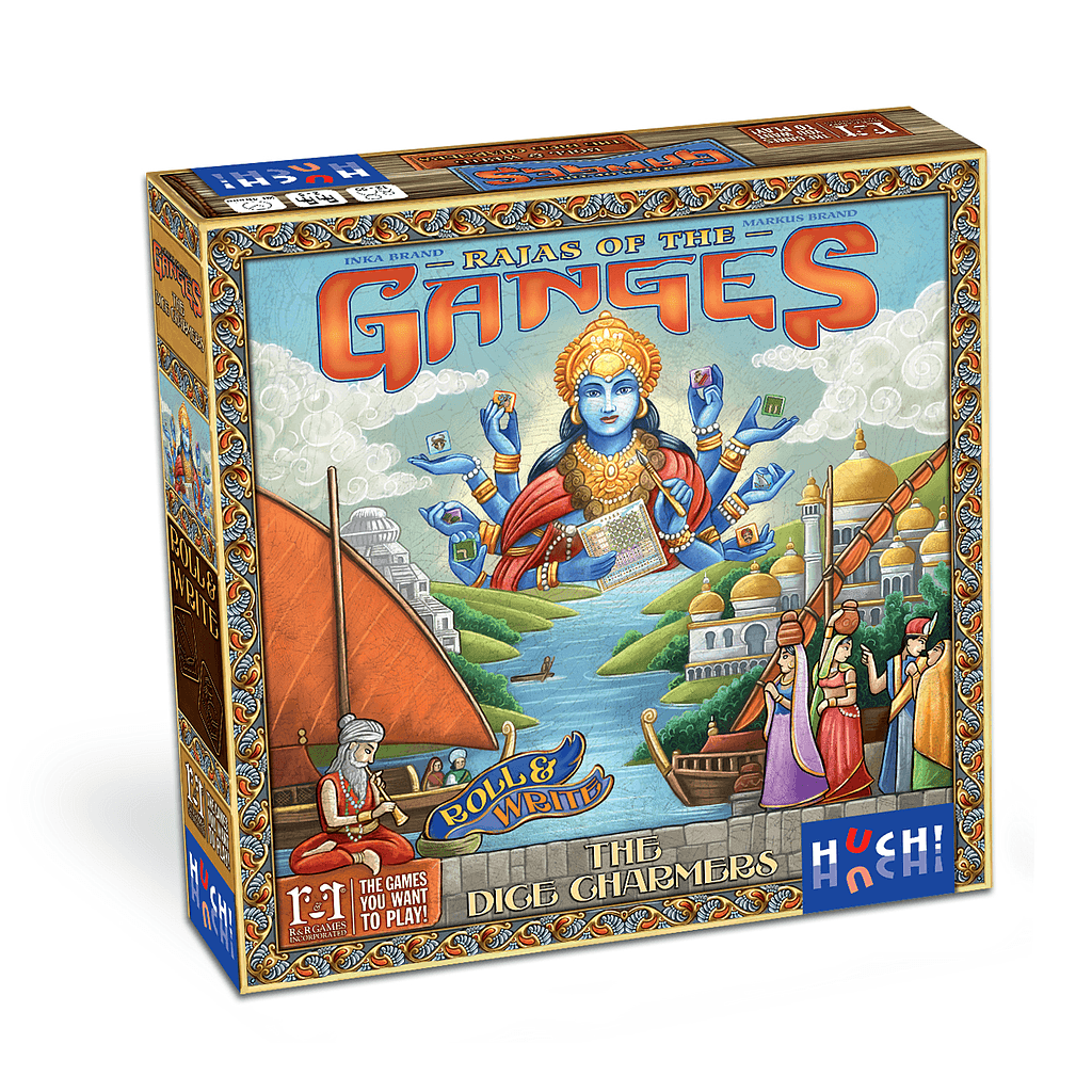 Rajas of the Ganges The Dice Charmers board game